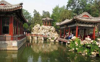 中国知名园林 北海静心斋
