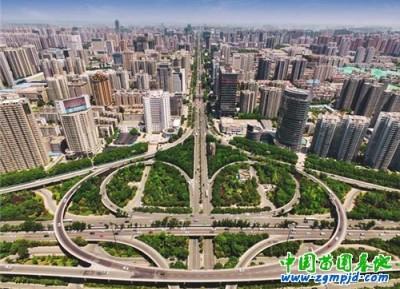 西安打造靓丽新北城 立体绿化创意满满(图)